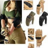 L'esercito militare della strumentazione protegge Airsoft Fingerless che caccia i guanti tattici