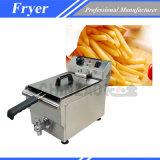 Frigideira comercial das microplaquetas de batata para a venda