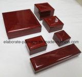 Contenitore ad alto livello di legno solido del contenitore di imballaggio di Jewellry di modo della Cina