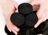 Unprocessed людское выдвижение волос Remy девственницы 8A