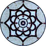 صنع وفقا لطلب الزّبون فسيفساء زهرة أسلوب مستديرة [م-جل803ي]