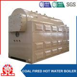 Boiler van het Hete Water van de hoge Capaciteit 14MW-1.0MPa de Horizontale Met kolen gestookte