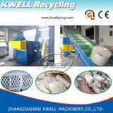 Singola asta cilindrica che tagliuzza sistema/trinciatrice di riciclaggio di plastica