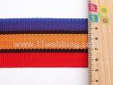 다채로운 PP 폴리프로필렌 줄무늬 가죽 끈