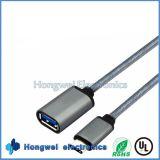 Тип мужчина USB3.1 c к USB 3.0 кабель USB выдвижения женщины OTG