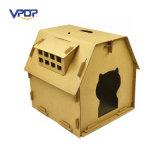 Bequemer gewölbter Katze-Haus-Katze-Möbel-Großverkauf