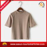 둥근 목 주문 t-셔츠 중국