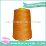 Linha de nylon por atacado ajustada do cone do poliéster da linha Sewing para a venda