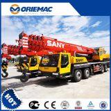 판매를 위한 세륨 증명서를 가진 Sany 기중기 25ton Stc250 트럭 기중기