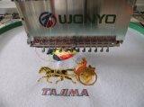 Tajima 자수 기계 Wy1201CS/Wy1501CS/Wy1201CSL/Wy1501CSL와 알맞은 가격 고속 유사한을%s 가진 단 하나 맨 위 자수 기계