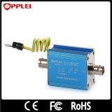 Protecteur de saut de pression de foudre de système de télévision en circuit fermé de signal de BNC