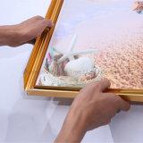 Qualité DEL décorative annonçant le cadre léger mince de bâti d'affiche de mur