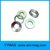 Imanes diametricalmente magnetizados del neodimio del anillo de la alta calidad