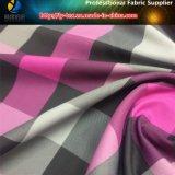 Tejido de hilo de piel de melocotón de poliéster con Handfeeling suave para camisas (YD1064)
