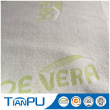 Tocco morbido di ticchettio tinto filato del tessuto del materasso della Vera dell'aloe St-Tp40