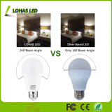 Ampoule d'éclairage LED du jour 5000k de l'ampoule A19 13W 13.5W 15W de DEL pour la maison