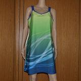 Изготовленный на заказ платье тенниса/сублимированное платье тенниса