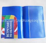Высокомарочная крышка держателя пасспорта PVC с ослепляет яркую офсетную печать (YJ-I010)