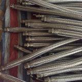 Weibliche männliche Befestigungen/Flansche bauten umsponnenen flexibles Metalschlauch zusammen
