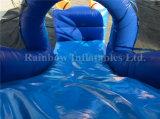 Animoso inflable de Moana del patio inflable inflable de la gorila con la diapositiva