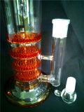 L'épaisseur AA-036 élevée réutilisent les pipes en verre de fumage de l'eau