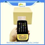 PDA rugoso, colector de datos con la impresora, explorador del código de barras
