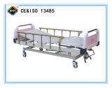 (A-66) Bewegliches Double-Function Krankenhaus-Bett mit ABS Bett-Kopf