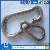 Gancho instantâneo inoxidável do aço DIN5299