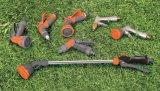 """1/2の""""庭のスプレーヤー6パターン調節可能なABSプラスチック水吹き付け器"""