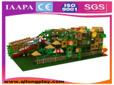Спортивная площадка земли потехи темы джунглей крытая для малышей (QL-1111C)
