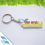 Doppelte Seiten kundenspezifische umweltfreundliche Schlüsselring-Schlüsselhalter Belüftung-Keychains/