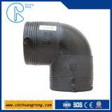 Fornecedores plásticos do encaixe de gás do HDPE (cotovelo)