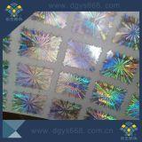 レーザーの虹のホログラムの自己Ahesiveの機密保護のステッカー