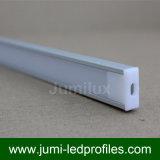 Profilo di alluminio piano poco profondo per le strisce del LED