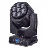 7X15W RGBW Mini LED Moving Head Zoom Bee Wash Light