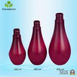 280ml personalizada botella de la bomba vacía de champú, botella de plástico