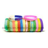 Neue Art prägen oder Debssed Silikon-Band-Silikon-Armband