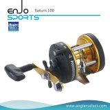 Saturn Strong Graphite Body / 1 Roulement / Poignée droite Bobine de pêche à la mer (Saturn 300)