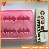 Bandeja del cubo de hielo del silicón de Lego de la alta calidad, moldes del helado de chocolate