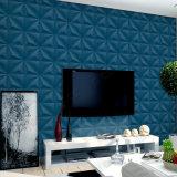 Papel pintado del vinilo del PVC de la decoración 3D de la pared de la sala de estar del papel de empapelar del diseño moderno