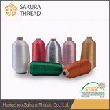 Het Japanse Metaal Zuivere Zilveren en Zuivere Goud van het Garen met 150d 300d 450d 600d Polyester