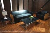 Tableau de thé neuf de bureau avec le finissage en cuir de PVC (S210)