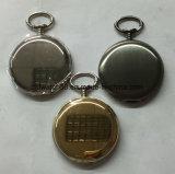 Popular 47mm Shinny Plain reloj de bolsillo con cadena