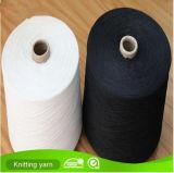 Nm34 Ne20 Zwart Katoenen van de Sok Polyester Gemengd Gerecycleerd Garen