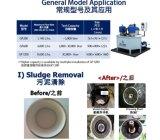 Gp-zentrifugaler Schmierölfilter-Wasser-Abbau-Systems-Maschinen-Öl-Reinigungsapparat Gp200/Gp600/Gp1200