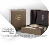 Rectángulo simple cómodo del vino de Brown del rectángulo del papel de Crepe de Eco