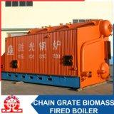 Caldeira de vapor despedida do Dobro-Cilindro do SZL 8-1.0MPa biomassa horizontal industrial