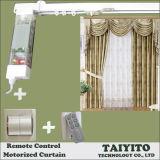 Elektrische vertikale blinde Vorhang-Ebene-geöffneter Vorhang im intelligenten Haus