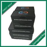 Черная картонная коробка упаковывая с оптовой продажей слоения Matt