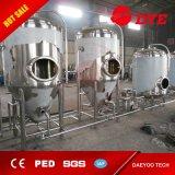 Mikrobrauerei 100L, 200L, 300L 500L, Gärungserreger des Bier-1000L, helles Bier-Becken
